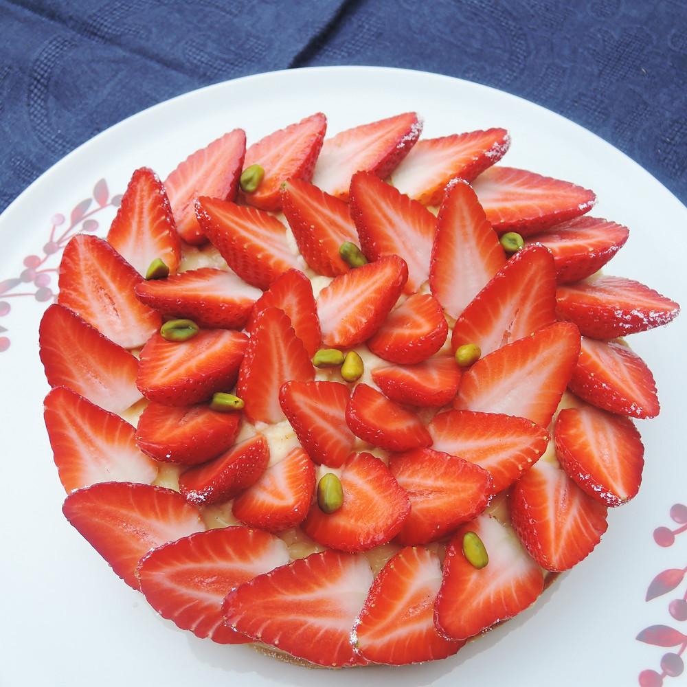 Tarte aux fraises Strawberry tart