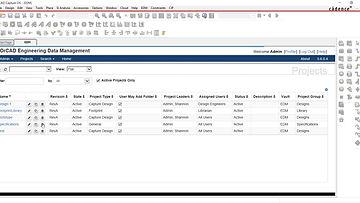 Управление проектами схем и печатных плат в OrCAD EDM
