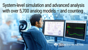 Новый симулятор PSpice-TI® - помогает клиентам TI ускорить время вывода продуктов на рынок