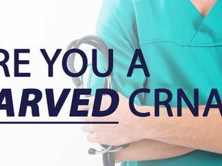 Are you a CARVED CRNA?