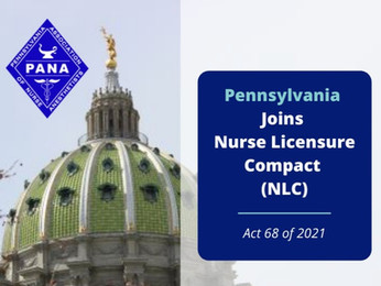 Pa. Joins 36 Other States in Nurse Licensure Compact