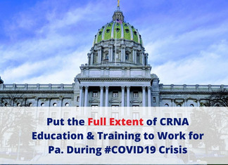 PANA Letter to Gov. Wolf RE: Authorizing Professional Designation to Facilitate Crisis Response