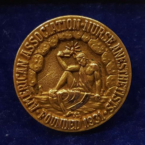 Shirley's AANA pin.