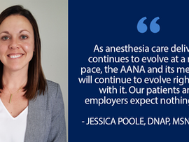 PANA Member Part of National Team Updating Anesthesia Practice Standards