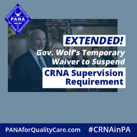 What Gov. Wolf's Disaster Declaration Extension Means for Physician Supervision Requirements for