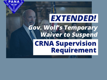 What Gov. Wolf's Disaster Declaration Extension Means for Physician Supervision Requirements