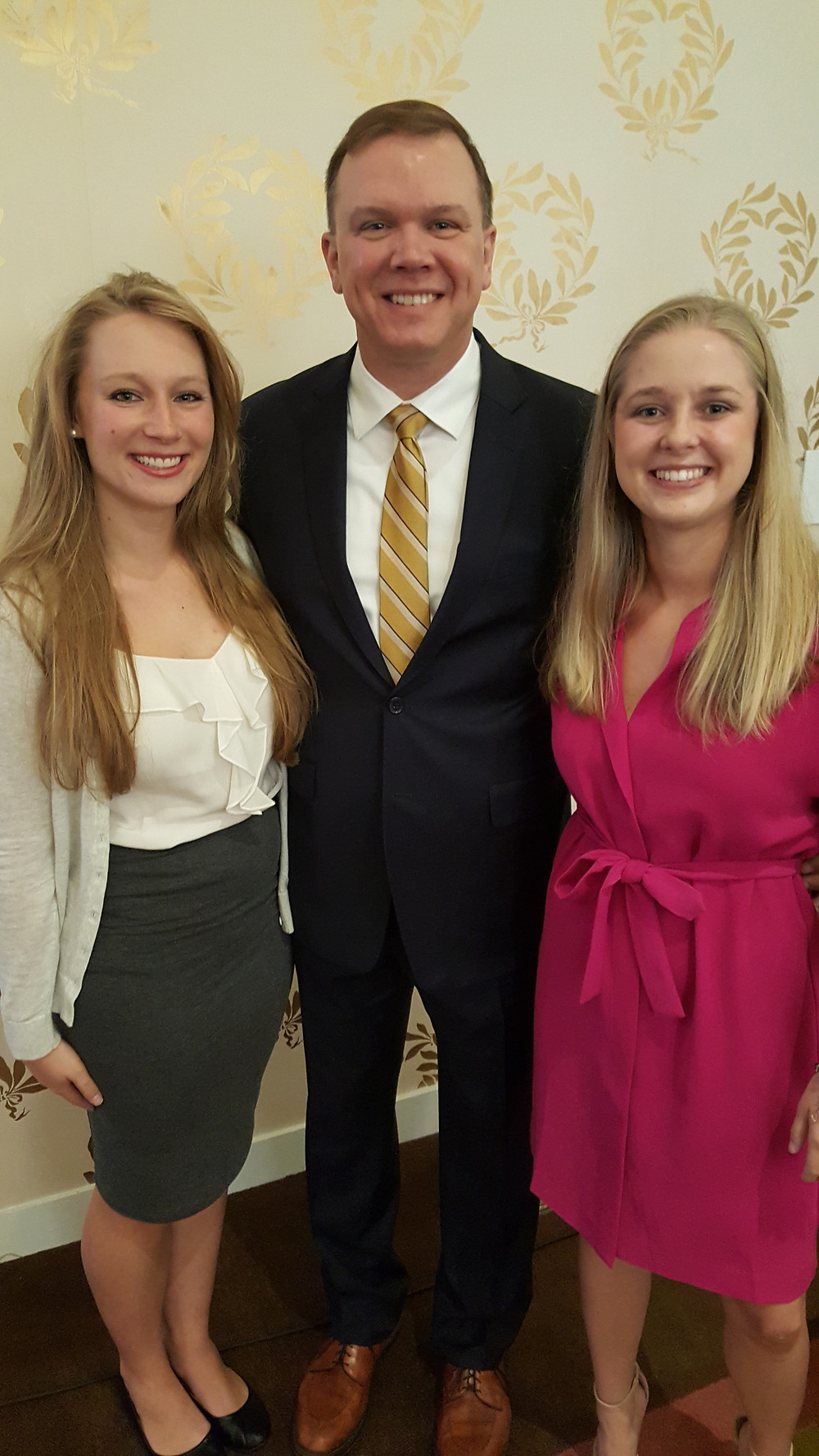 L to R: Leigh Ann Clark, Aaron Ostrowski and Chelsea Hyre (Cord)