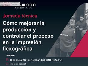 Próxima Jornada técnica: Cómo mejorar la producción y controlar el proceso en la flexografía.