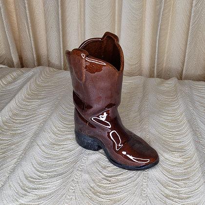 Ceramic Boot Planter