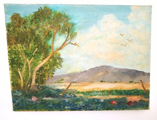 1965 H. Mackie Blue Bonnet Landscape
