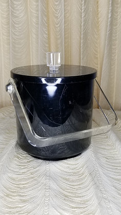 """Vintage 9"""" Syson Lucite Ice Bucket"""
