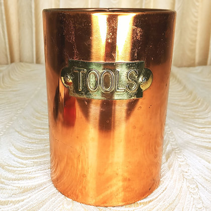 Copper Tools Canister