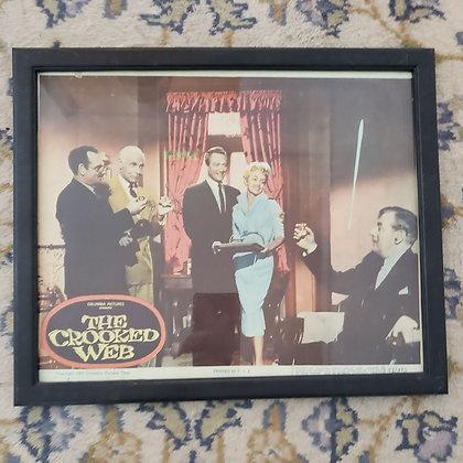 """The Crooked Web"" Original Lobby Card"