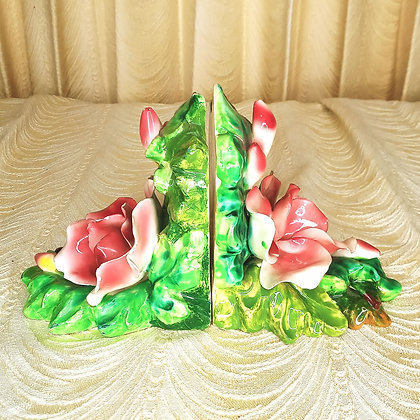 Italy Floral Bookends