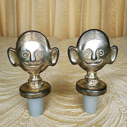 1984 Sommelier Wine Stoppers Pair