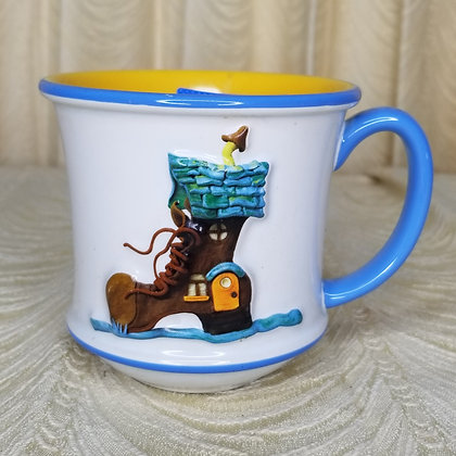 'Little Old Lady Who Lived in a Shoe' Domestic Engineer Mug