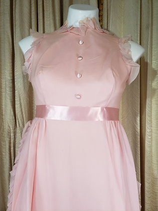 1960's Pink Easter Dress