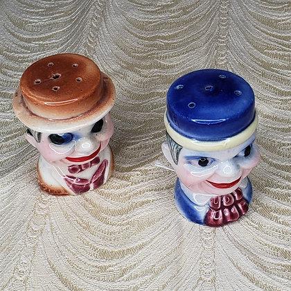 Vintage Japanese Salt and Pepper Shakers