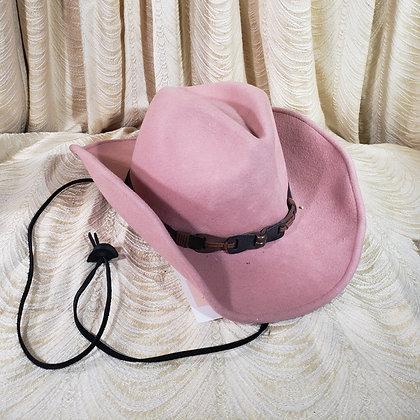 Light Pink Cowboy Hat