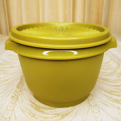 Green Tupperware