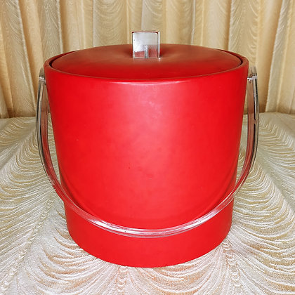 George's Briard Ice Bucket with Lucite Handle