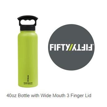 FIFTY FIFTY Water Bottles 40oz Bottle