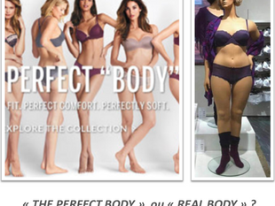 """The perfect body"" vs ""The real body"""