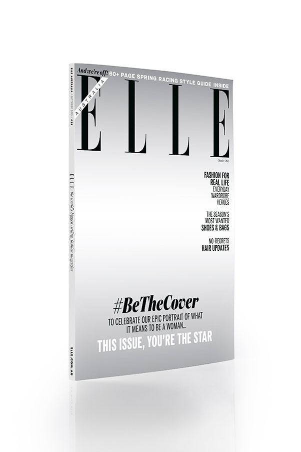 ELLE October Issue, on sale now