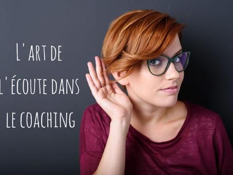 Le coaching : un métier où l'écoute est tout un art