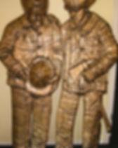 Bronze 9/11 Memorial