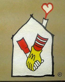 Signage Ronald Mcdonald House
