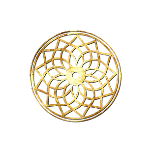 Rose circles in transparent background_s