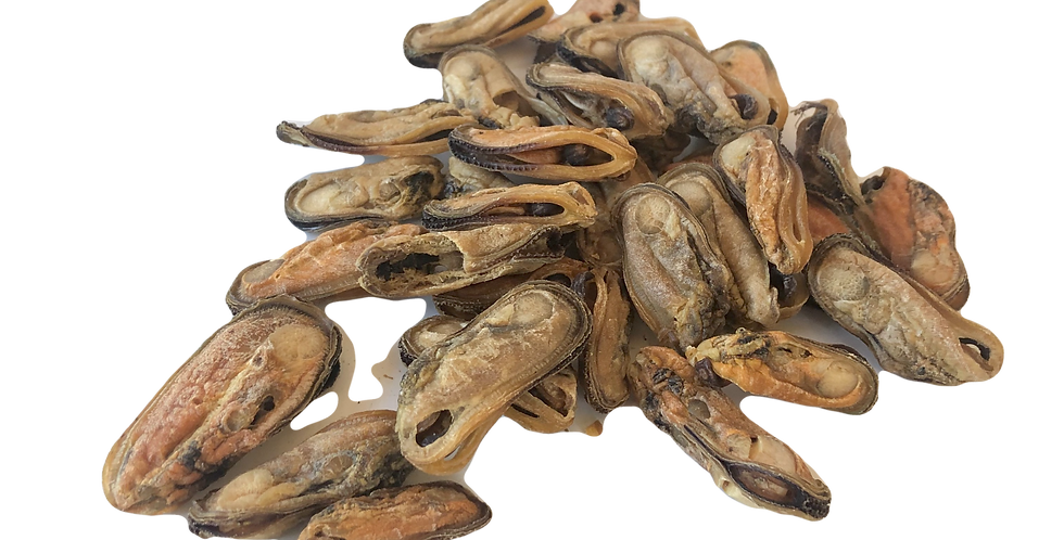 Brodies air-dried green lipped mussel treats for pets