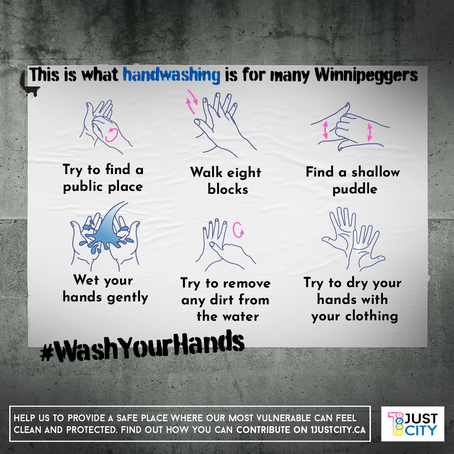 What handwashing is for many Winnipeggers