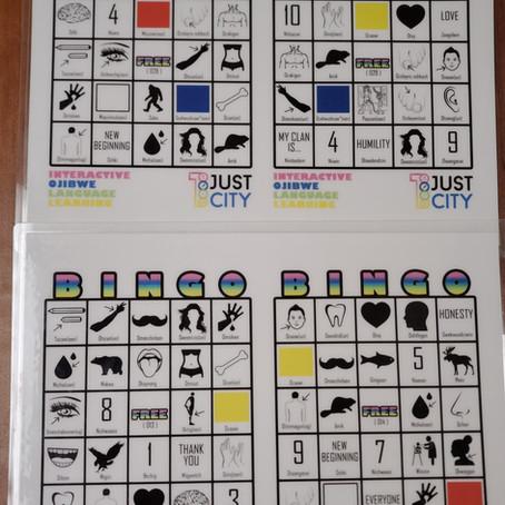 Ojibway Language Bingo