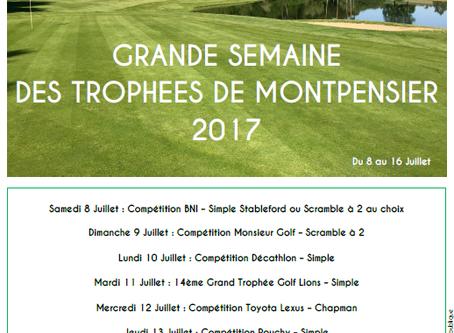 Grande Semaine des Trophées de Montpensier 2017
