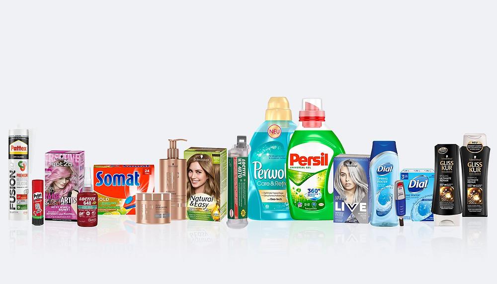 Produkte von Henkel