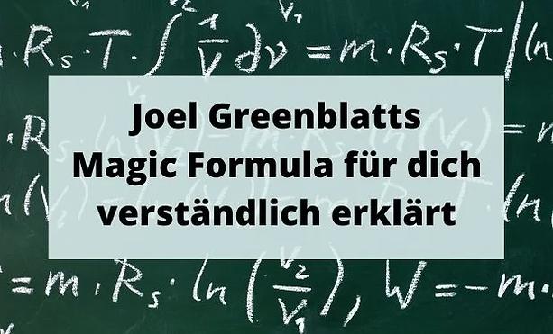 Greenblatt Gewinnrendite
