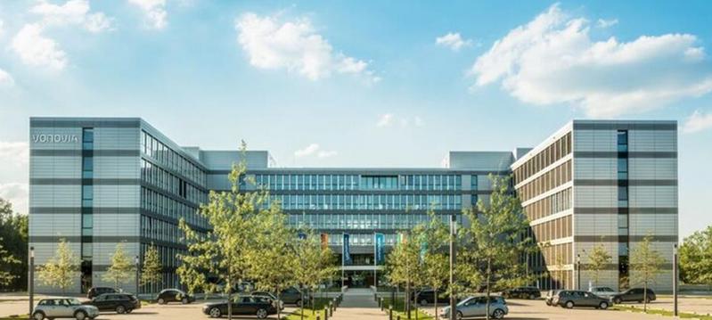 Bild zeigt die neue Vonovia Zentrale in Bochum