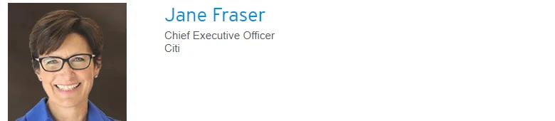 Jane Fraser Citigroup CEO