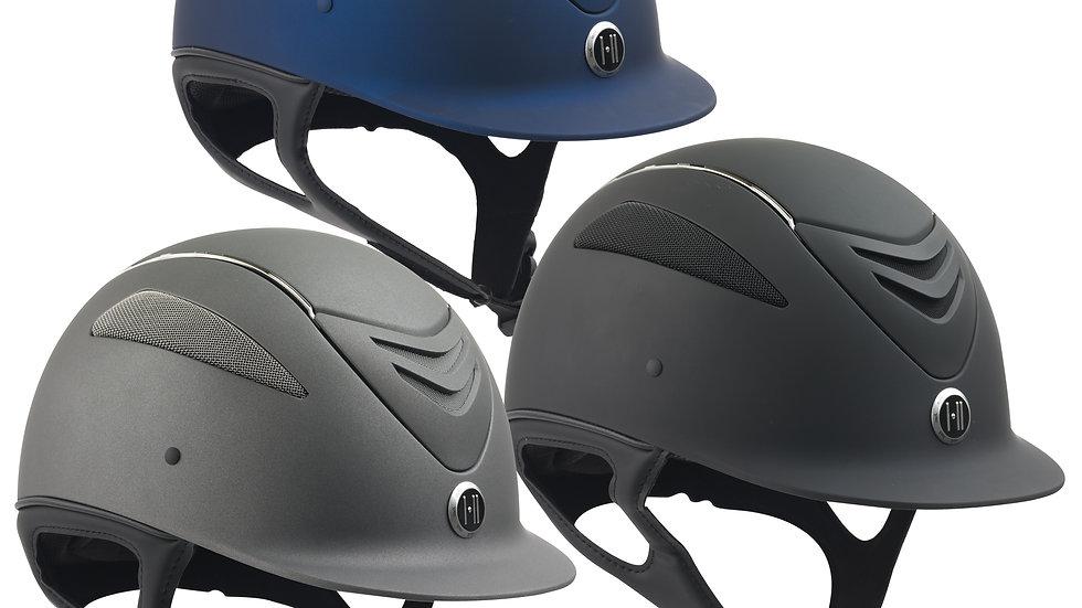 Defender Chrome Stripe Helmet