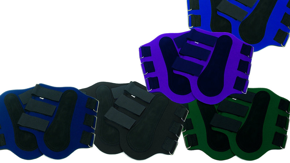 Neoprene Splint Boots with Sueded Padded Tendon