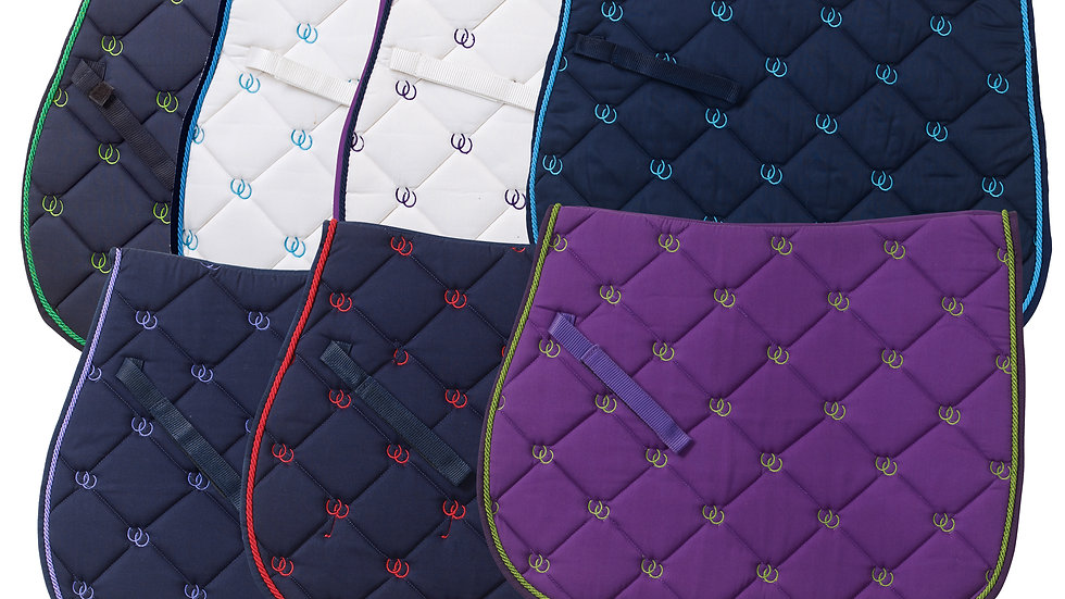 Lucky Shoes Close Contact Saddle Pad