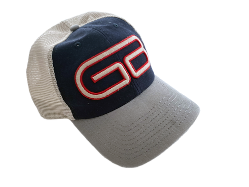 Unstructured Mesh Back Retro Greenville Braves Hat