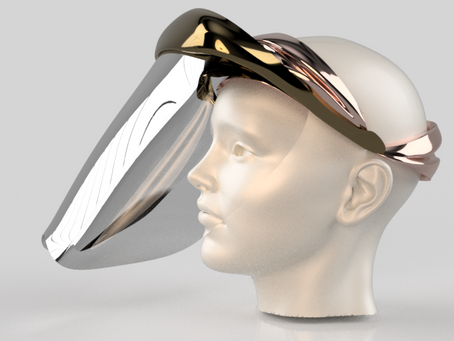 NEW FACE SHIELDS デザイン案完成