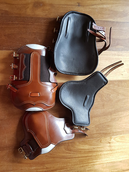 Brown Leather Tendon & Fetlock Boots