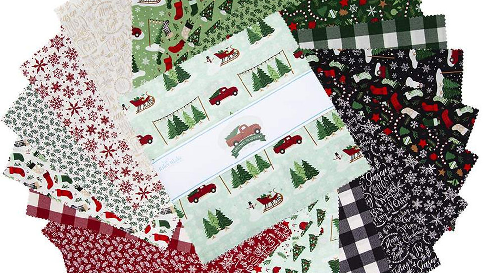 """Christmas Traditions 10"""" stacker"""