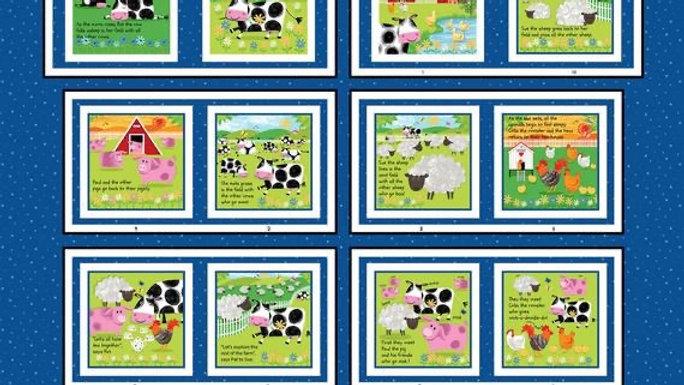 Best Friend Farm Book panels