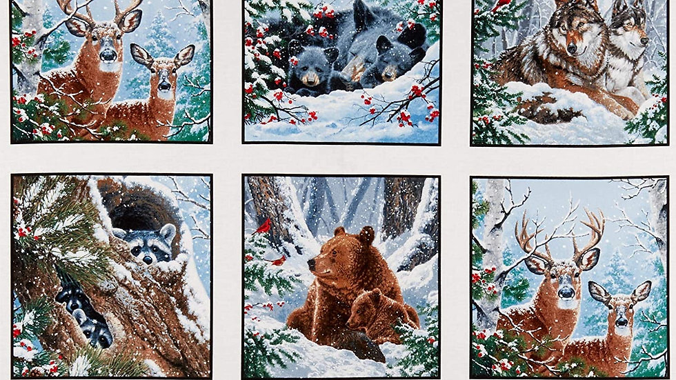 Winter companions  panel