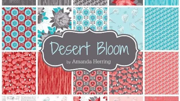"""Desert Bloom 5"""" squares"""